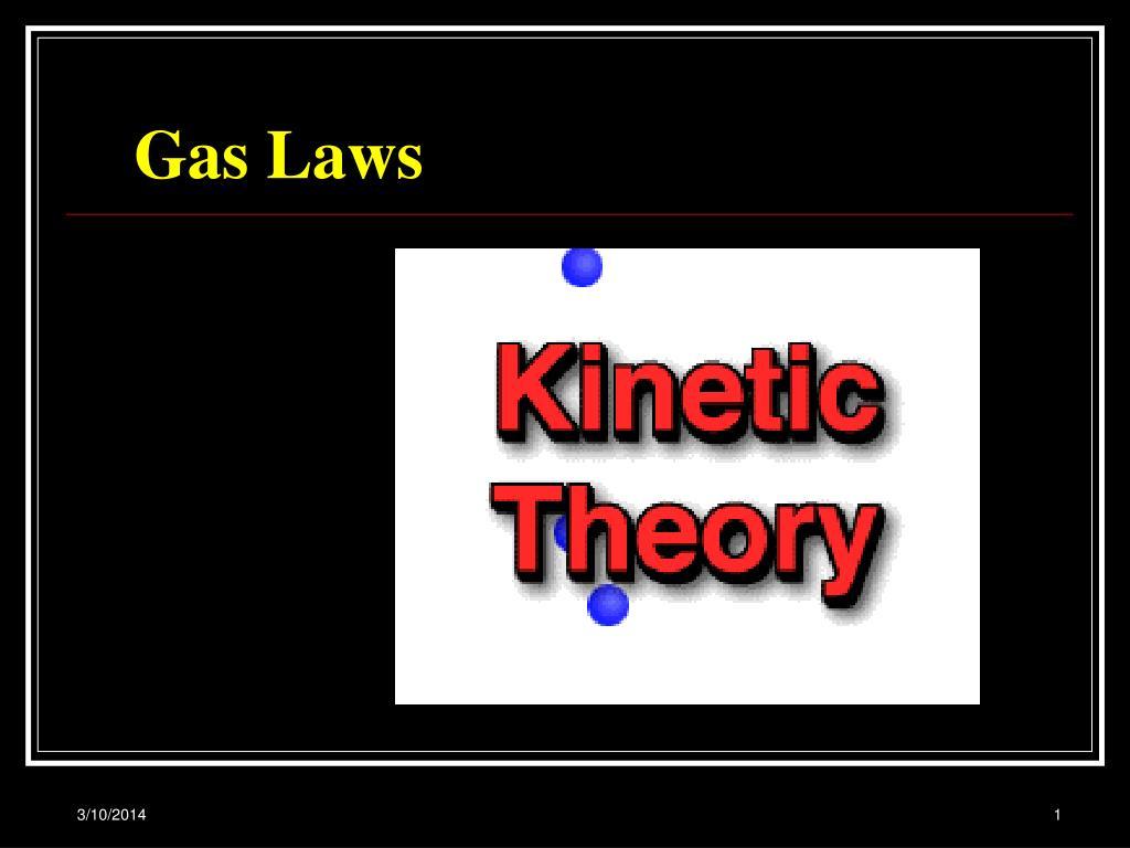 gas laws l.