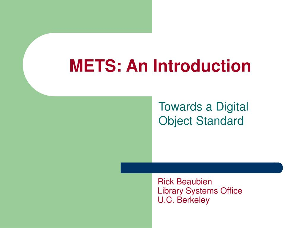 mets an introduction l.
