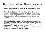 documentation notes de cours41