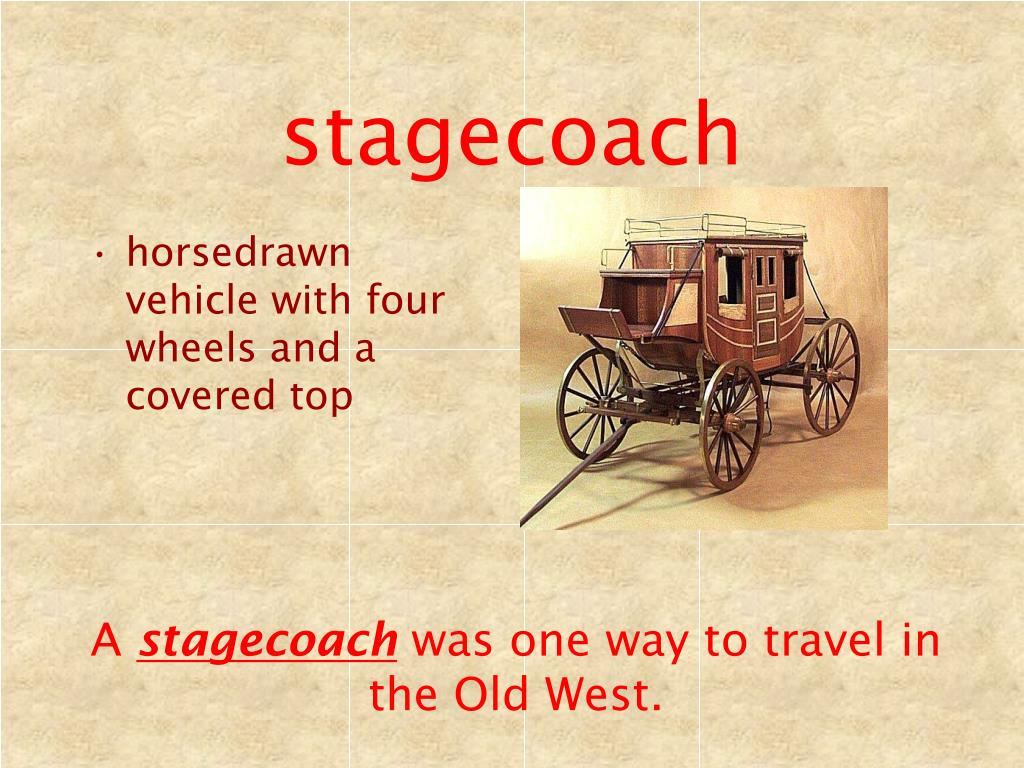 stagecoach