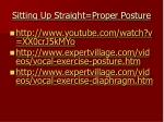 sitting up straight proper posture6