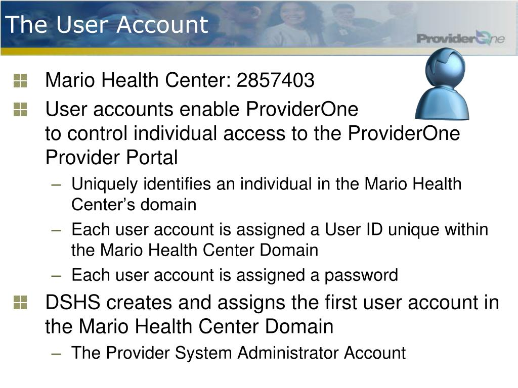 The User Account