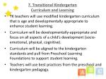 7 transitional kindergarten curriculum and learning14