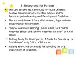 8 resources for parents