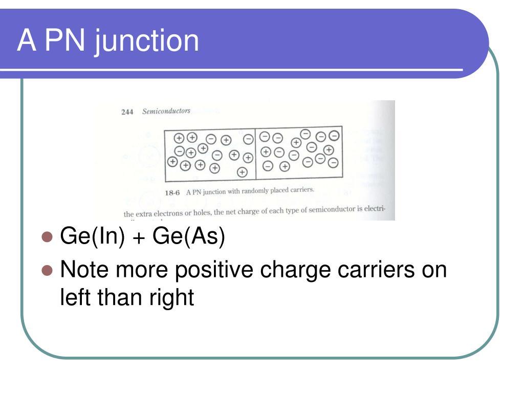 A PN junction