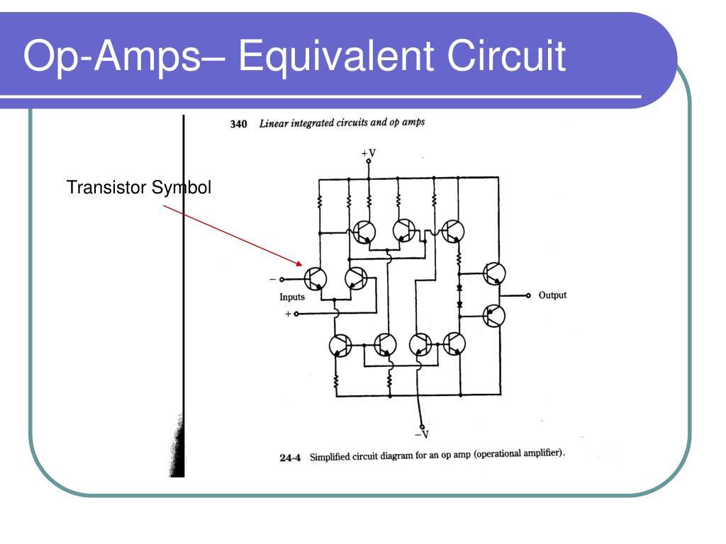 Op-Amps– Equivalent Circuit