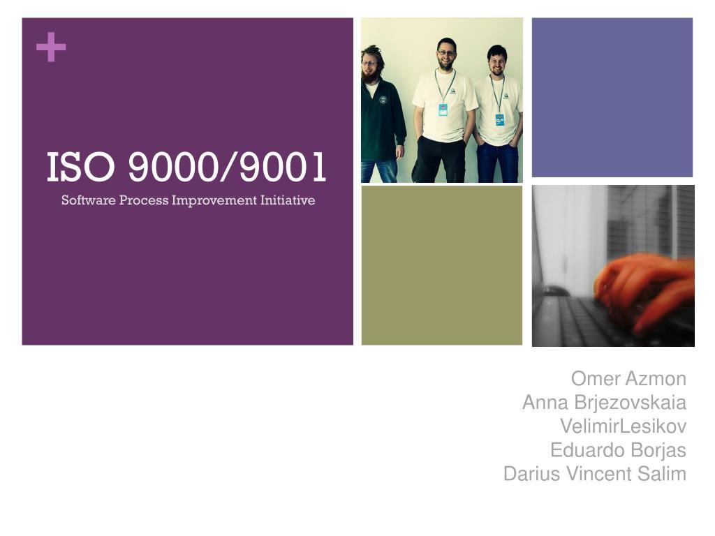 iso 9000 9001 l.