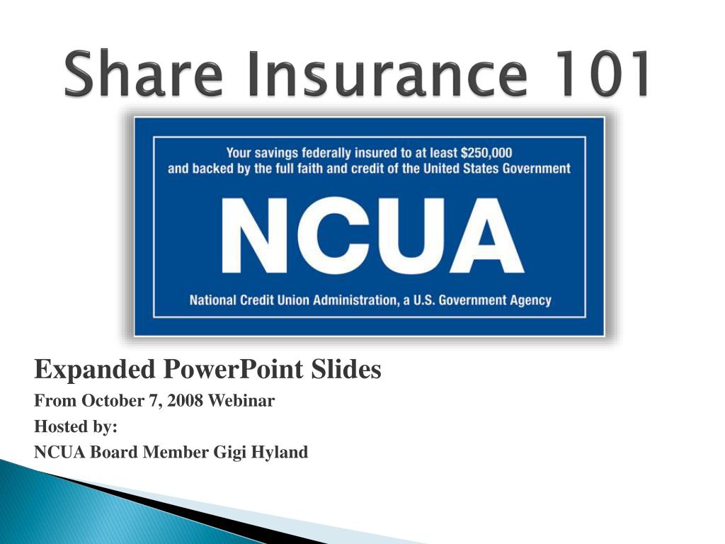 share insurance 101 l.