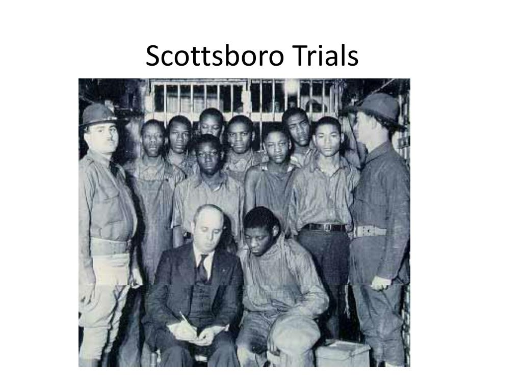 scottsboro trials l.