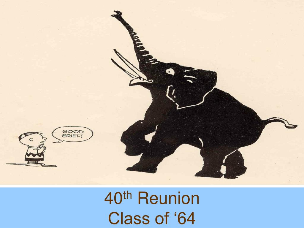 40 th reunion class of 64 l.
