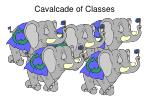 cavalcade of classes