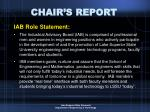 chair s report5