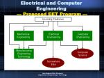 electrical and computer engineering proposed eet program