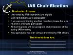 iab chair election10