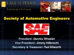 society of automotive engineers