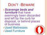 don t beware