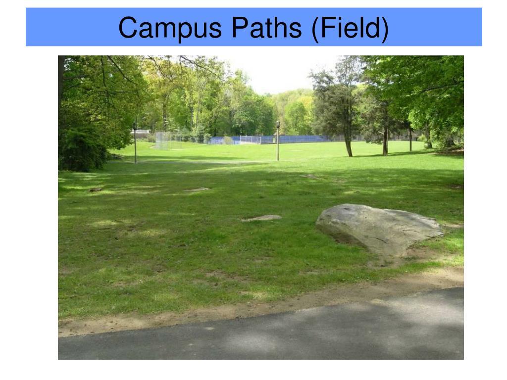 Campus Paths (Field)