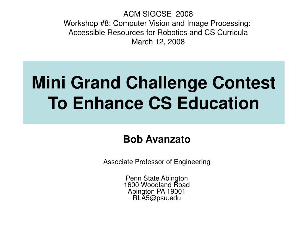 ACM SIGCSE  2008