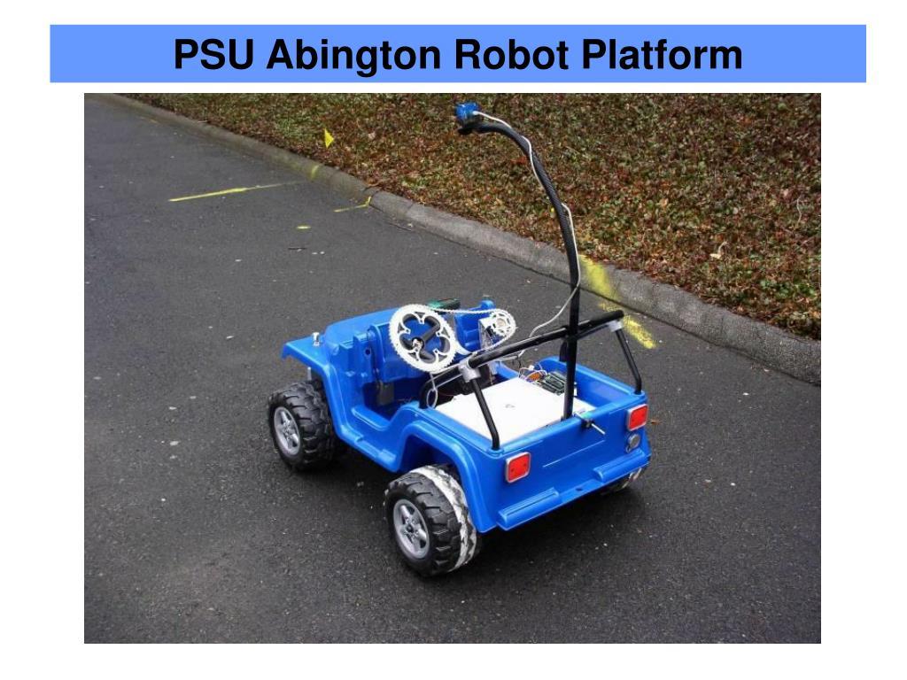 PSU Abington Robot Platform