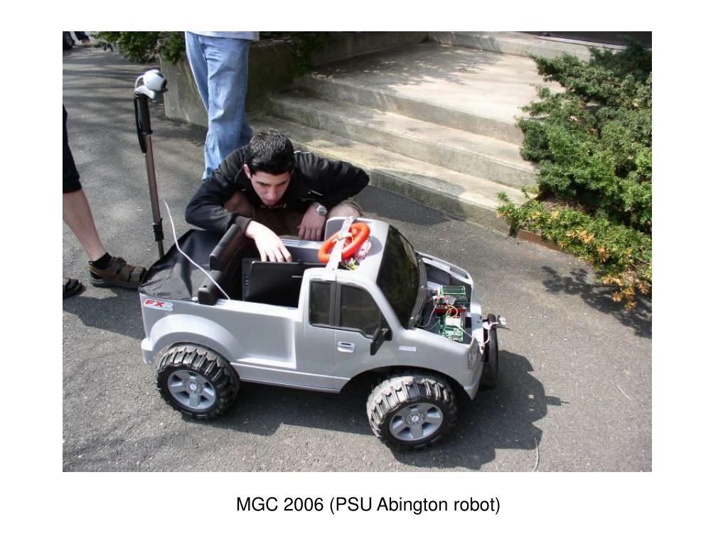 MGC 2006 (PSU Abington robot)