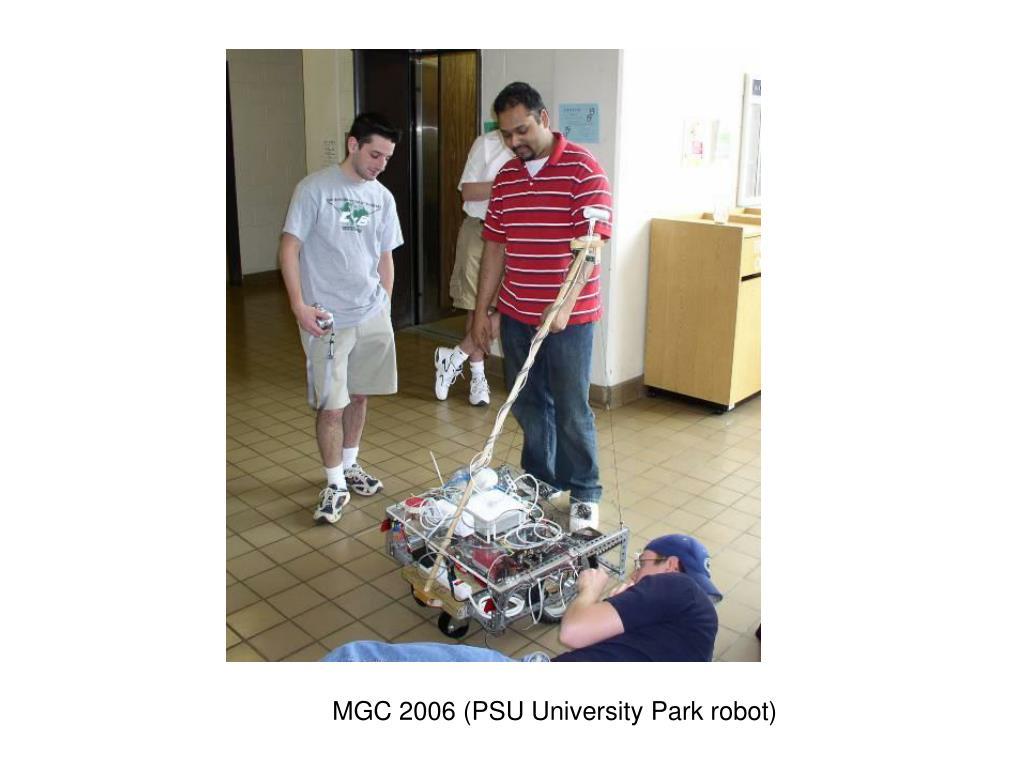 MGC 2006 (PSU University Park robot)