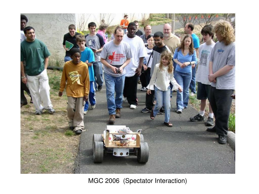 MGC 2006  (Spectator Interaction)