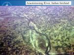 anastomosing river indian foreland