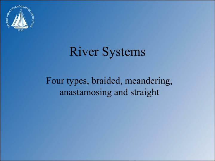 river systems n.