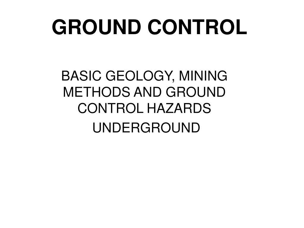 ground control l.