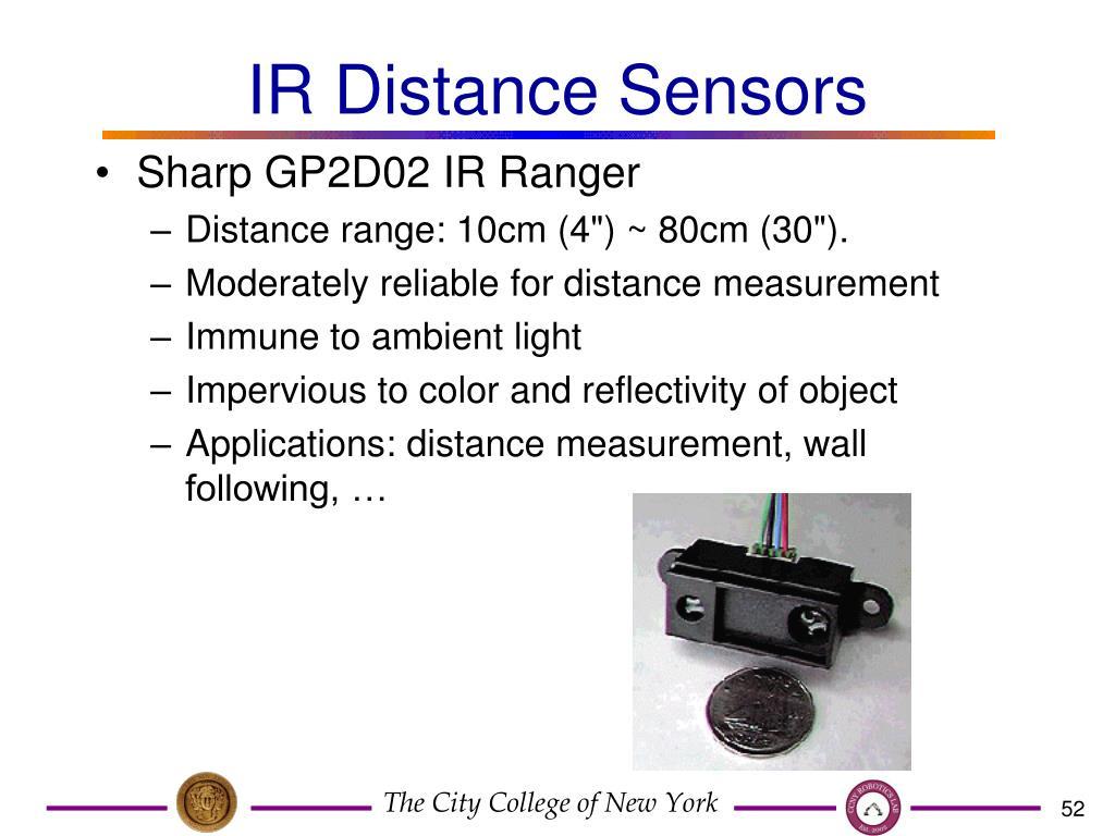 IR Distance Sensors