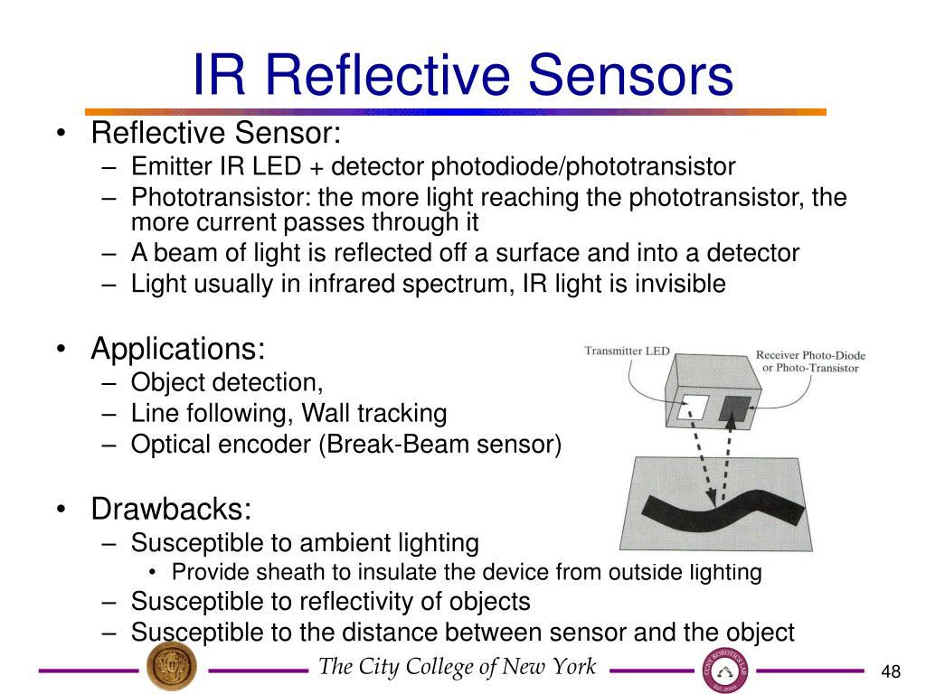 IR Reflective Sensors