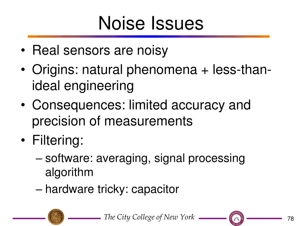 Noise Issues