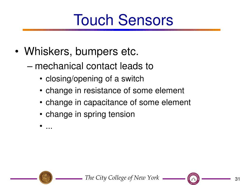 Touch Sensors