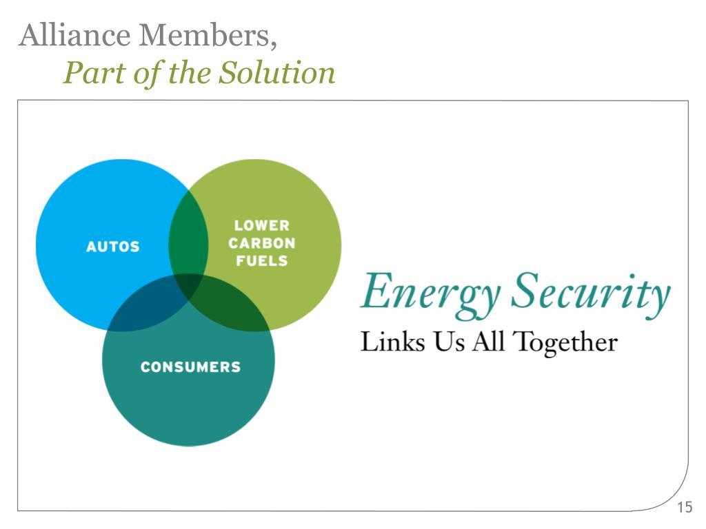 Alliance Members,