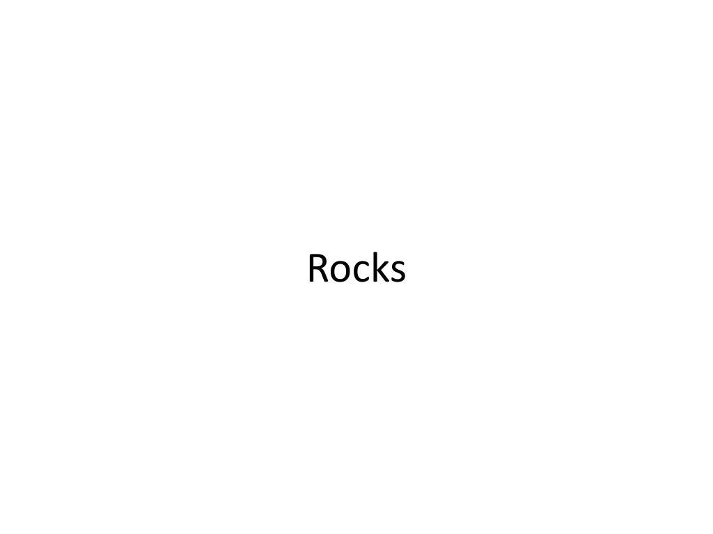 rocks l.