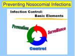preventing nosocomial infections