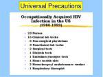 universal precautions53