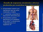 estudio de respuestas circulatorias adversas producidas por maniobras intra abdominales1