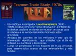 tearoom trade study 1970s