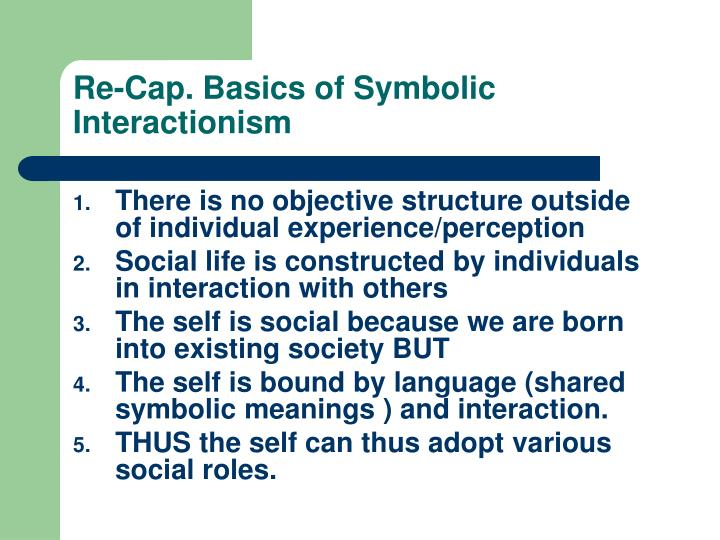 Ppt Symbolic Interactionism Powerpoint Presentation Id210834