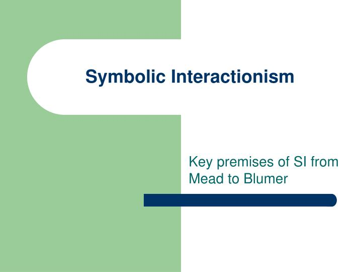 symbolic interactionism n.