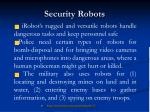 security robots23