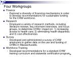 four workgroups