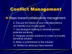 conflict management101