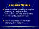 decision making61