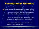 foundational theories12