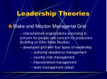 leadership theories78