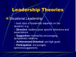 leadership theories79