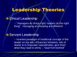 leadership theories82
