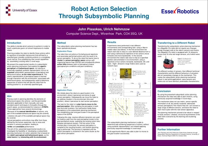 Robot Action Selection